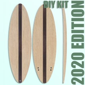 Hollow Wooden Surfboard Kits, Frames and Supplies 1