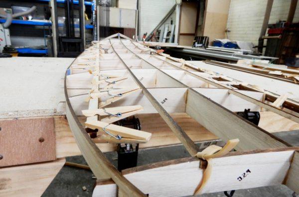 CNC Cut Surfboard Frame