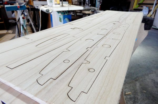 Wooden Surfboard Kits