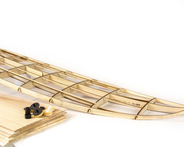 6'4 DIY wooden surfboard kit