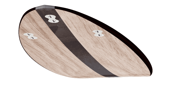 "THE EGG - 2020 EDITION </br>[6'x21"" 40L]</br>Laser Cut Wooden Surfboard Kit 3"