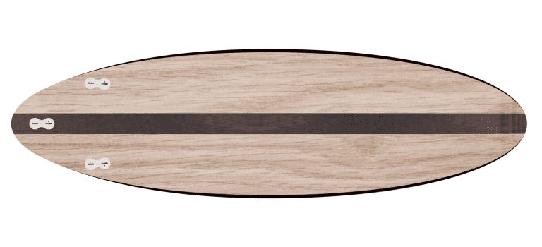 "THE EGG - 2020 EDITION </br>[6'x21"" 40L]</br>Laser Cut Wooden Surfboard Kit 2"