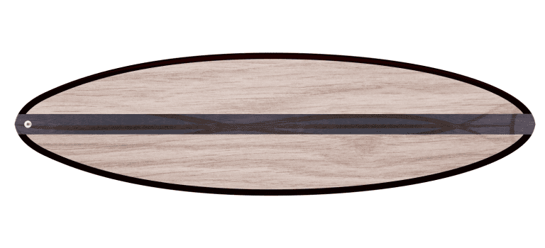"THE EGG - 2020 EDITION </br>[6'x21"" 40L]</br>Laser Cut Wooden Surfboard Kit 5"
