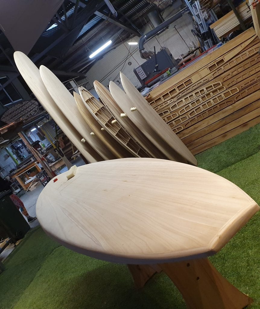stand up paddle board, wooden surfboard, long board, build your own board display