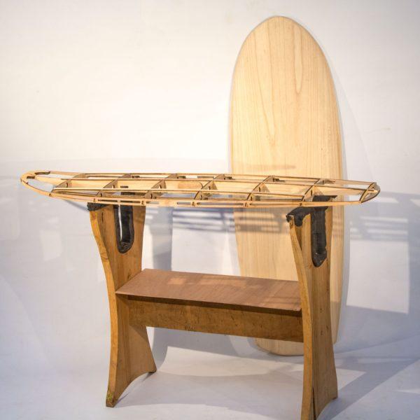 """2019 MINI SIMMONS</br>[5'5x23"""" 41L]</br>Laser Cut Wooden Surfboard Kit 1"""