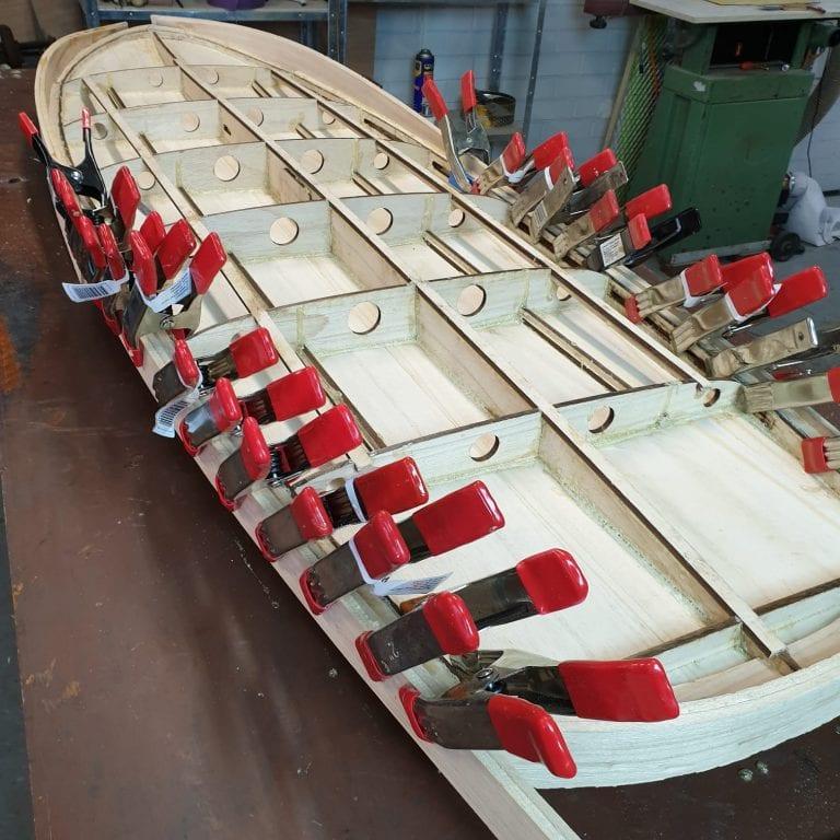 """2019 MINI SIMMONS</br>[5'5x23"""" 41L]</br>Laser Cut Wooden Surfboard Kit 3"""