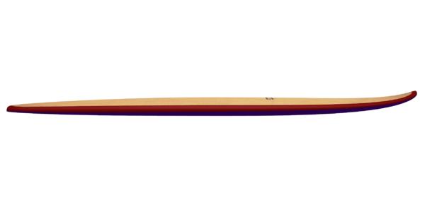 """2019 MINI SIMMONS</br>[5'5x23"""" 41L]</br>Laser Cut Wooden Surfboard Kit 6"""
