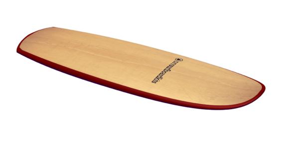 """2019 MINI SIMMONS</br>[5'5x23"""" 41L]</br>Laser Cut Wooden Surfboard Kit 7"""