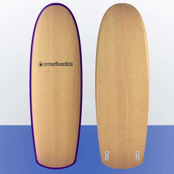 wooden surfboard kit for sale - mini simmons