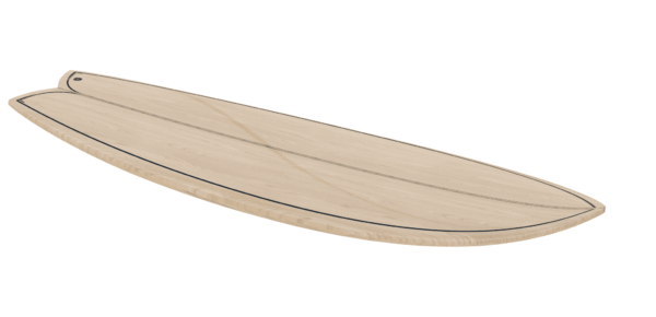 2020 Periodic Fish </br>[5'6 | 5'9 | 5'11]</br>Laser Cut Wooden Surfboard Kit 2