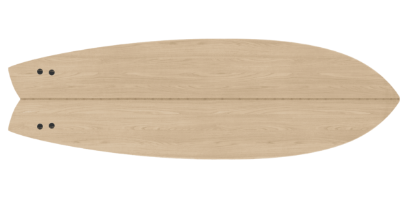2020 Periodic Fish </br>[5'6 | 5'9 | 5'11]</br>Laser Cut Wooden Surfboard Kit 3