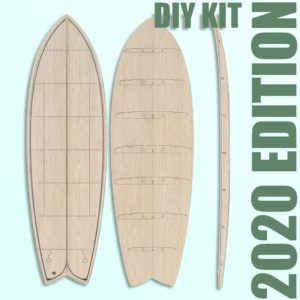 Hollow Wooden Surfboard Kits, Frames and Supplies 7