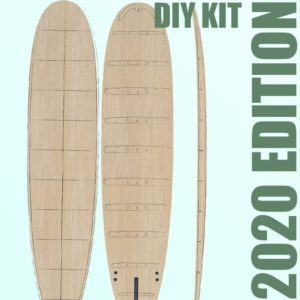 Hollow Wooden Surfboard Kits, Frames and Supplies 5