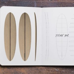 Hollow Wooden Surfboard Kits, Frames and Supplies 3