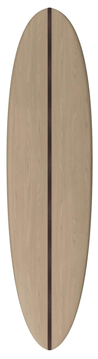 "2020 EGGY MAL</br>[7'2 x 22""] </br>Laser Cut Wooden Surfboard Kit 3"