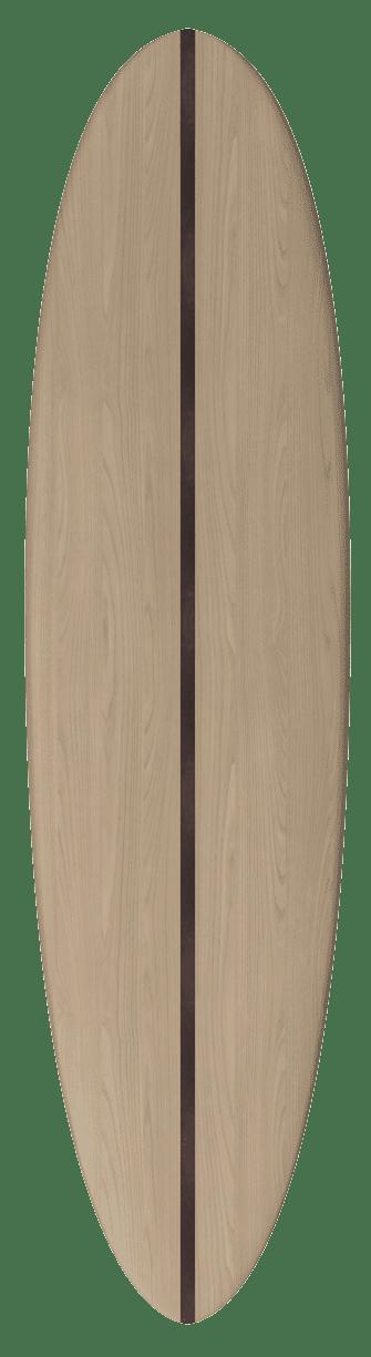 "2020 EGGY MAL [7'2 x 22""] Laser Cut Wooden Surfboard Kit 3"