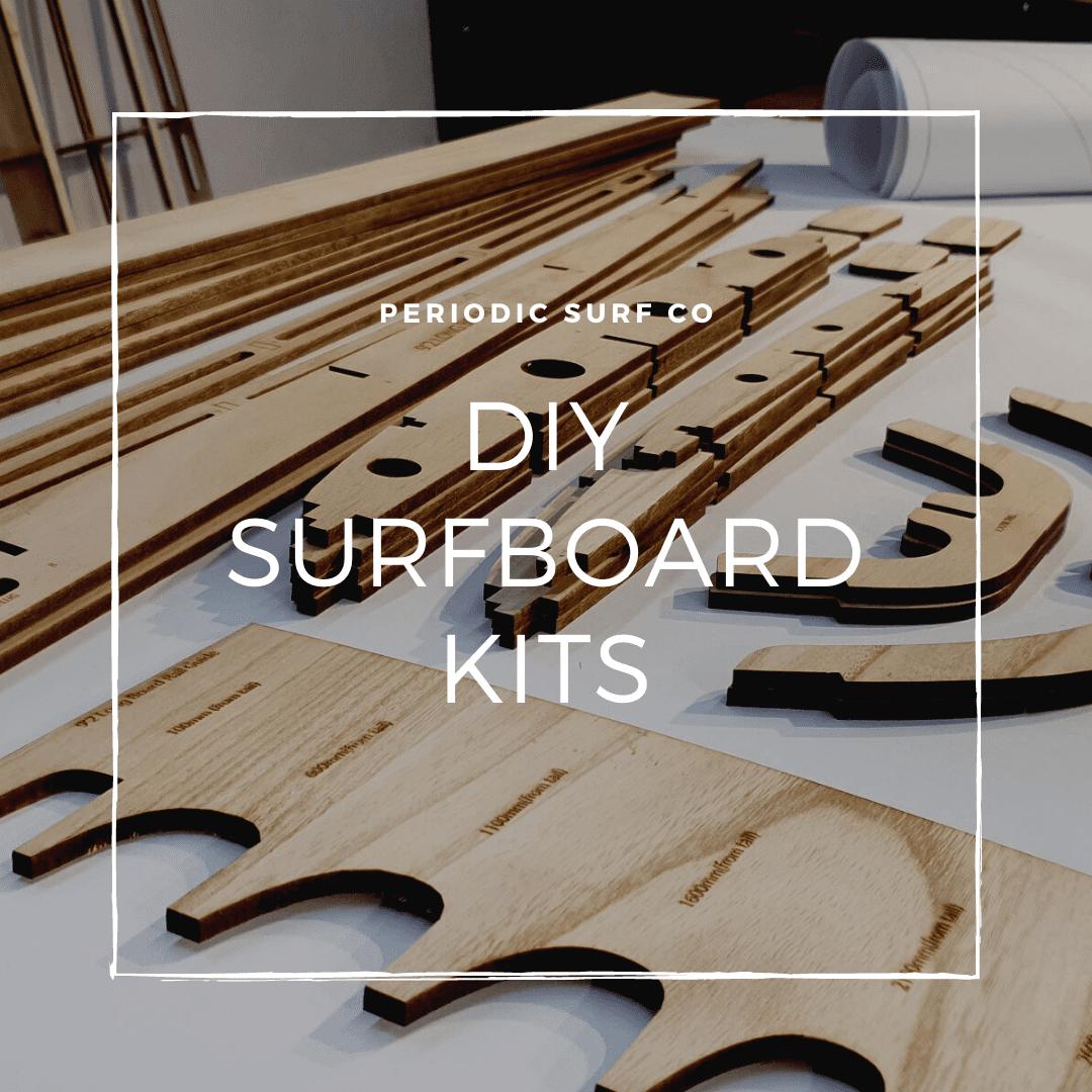 Laser Cut Wooden Surfboard Kit