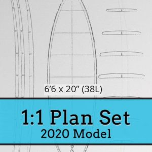 Hollow Core Wooden Surfboard Kits, Frames and Supplies 13