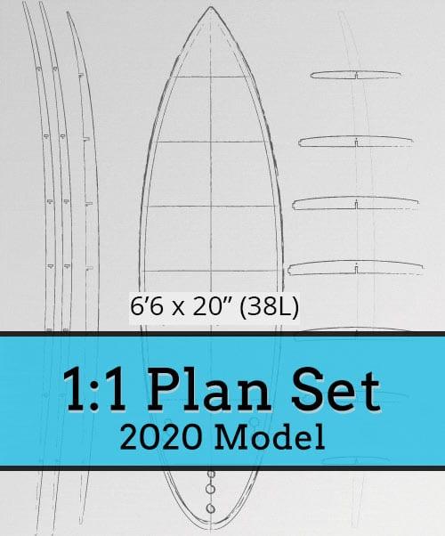 6'6 Short Board [2020] 1