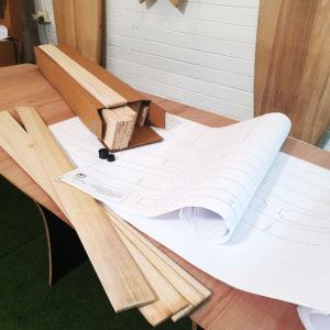 cheap DIY wooden surfboard kit