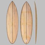 6'5 wooden surfboard kit