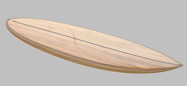 "6'5 x 22"" Rocket - PRINTED PLAN WOODEN SURFBOARD KIT 1"