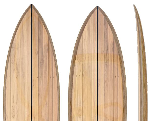 AUTUMN WOODEN SURFBOARD SALE