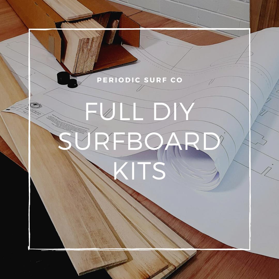 FULL DIY WOODEN SURFBOARD KITS