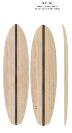 10'2 Wooden SUP Kit