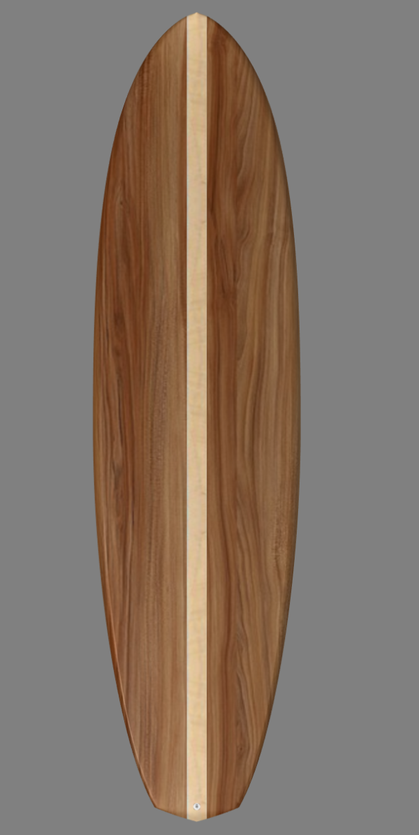 10'2 SUP wooden kit